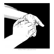 Handwashing with black background 5 (Artist: Shaw, Rod)