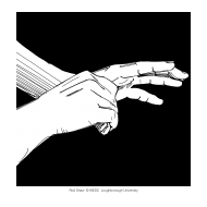 Handwashing with black background 6 (Artist: Shaw, Rod)