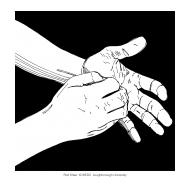 Handwashing with black background 9 (Artist: Shaw, Rod)