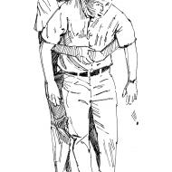 Abdominal thrust (Artist: Shaw, Rod)