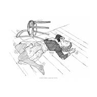 Person convulsing (Artist: Shaw, Rod)