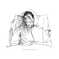 Stroke victim (Artist: Shaw, Rod)