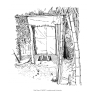 Simple pit latrine (Artist: Shaw, Rod)