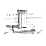 Simple pit latrine 2 v2 (Artist: Shaw, Rod)