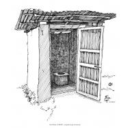 Bucket latrine 2 (Artist: Shaw, Rod)