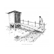 Overhanging latrine 1 (Artist: Shaw, Rod)