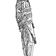 Man in a jumper (Artist: Shaw, Rod)