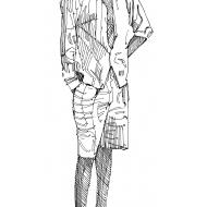 Man standing 1 (Artist: Shaw, Rod)