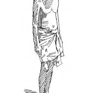 Man standing 2 (Artist: Shaw, Rod)