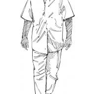 Man walking 1 (Artist: Shaw, Rod)