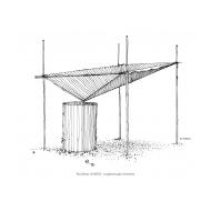 Rainwater catchment frame (Artist: Shaw, Rod)