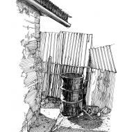 Rainwater collection 3 (Artist: Shaw, Rod)