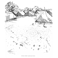 Refugee camp (Artist: Shaw, Rod)