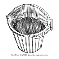 Bucket of turbid water (Artist: Shaw, Rod)