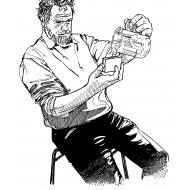 Filling a chlorinator (Artist: Shaw, Rod)