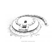 VIP latrine - with slab under construction (Artist: Shaw, Rod)