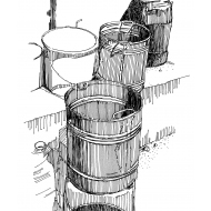 Buckets and two taps (Artist: Shaw, Rod)