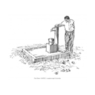 Man at a standpost (Artist: Shaw, Rod)