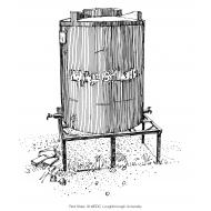 Emergency water tank on a frame (Artist: Shaw, Rod)