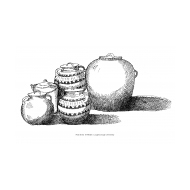 Group of water pots (Artist: Shaw, Rod)