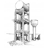Water towers (Artist: Shaw, Rod)