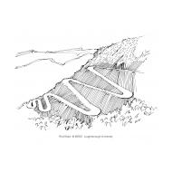 Zig-zag roads (Artist: Shaw, Rod)