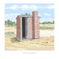 Blair VIP latrine 1 - colour (Artist: Shaw, Rod)