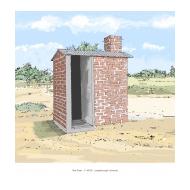 Blair VIP latrine 2 - colour (Artist: Shaw, Rod)