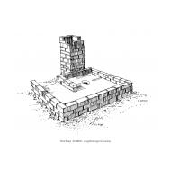 Latrine under construction - square VIP (Artist: Shaw, Rod)