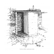 Spiral VIP latrine with vent pipe 2 (Artist: Shaw, Rod)