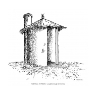 VIP latrine - thatched 2 (Artist: Shaw, Rod)