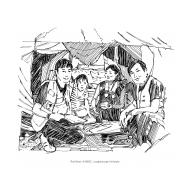 Children and volunteers (Artist: Shaw, Rod)