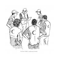 Volunteers conducting assessment (Artist: Shaw, Rod)