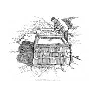 Man washing clothes (Artist: Shaw, Rod)