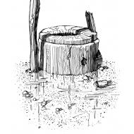 Damaged well (Artist: Shaw, Rod)