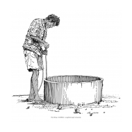 Open well 1 (Artist: Shaw, Rod)