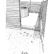 Steep approach to a well (Artist: Shaw, Rod)