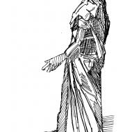 Indian woman (Artist: Shaw, Rod)