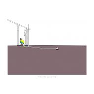 Sanitation ladder - Pour-flush to sewer (Artist: Shaw, Rod)