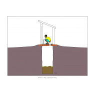 Sanitation ladder - SanPlat fitted (Artist: Shaw, Rod)