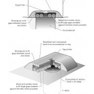 Traditional latrine using local materials (Artist: Shaw, Rod)