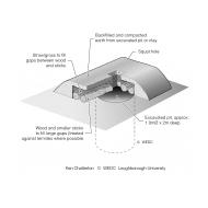Traditional latrine using local materials isometric (Artist: Shaw, Rod)