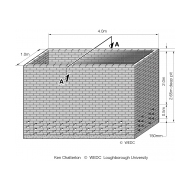 Brick-lined pit orthographic (Artist: Shaw, Rod)