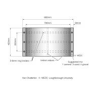 Pre-cast concrete ring pit liner section (Artist: Shaw, Rod)