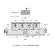 Institutional latrine design plan (Artist: Shaw, Rod)
