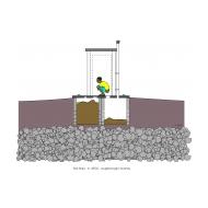 Twin-pit latrine v2 - colour (Artist: Shaw, Rod)