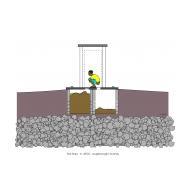 Twin-pit latrine v3 - colour (Artist: Shaw, Rod)