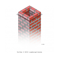 Brickwork with netting - colour (Artist: Shaw, Rod)