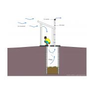 VIP latrine-3 - colour (Artist: Shaw, Rod)